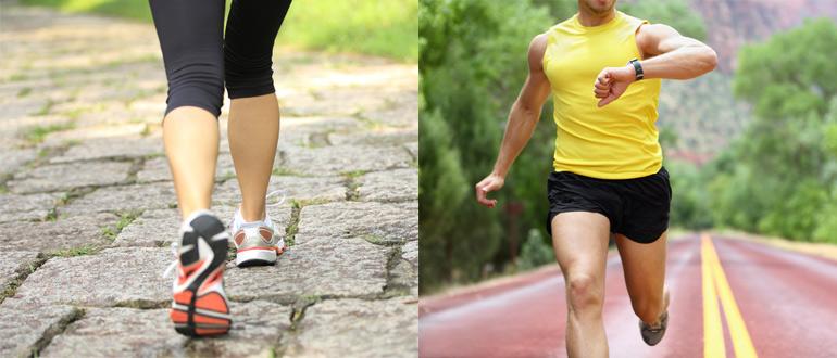 Fartlek Training Walking Running