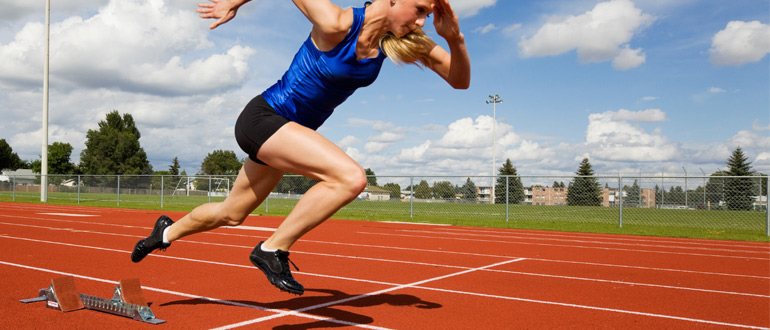 Sprinting HIIT High Intensity Interval Training